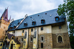 Castle Sobotka Gorka. Old in the process of restoration Castle Sobotka Gorka Poland Stock Images
