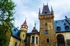 Castle Sobotka Gorka. Old in the process of restoration Castle Sobotka Gorka Poland Royalty Free Stock Images