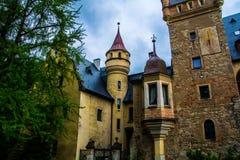 Castle Sobotka Gorka. Old in the process of restoration Castle Sobotka Gorka Poland Royalty Free Stock Photo
