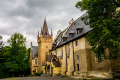 Castle Sobotka Gorka. Old in the process of restoration Castle Sobotka Gorka Poland Stock Photography