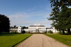 Castle Soestdijk in the Netherlands. Detail of castle Soestdijk in the Netherlands Stock Photos