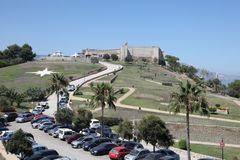 Castle Sohail in Fuengirola, Spain Stock Image