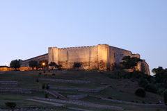 Castle of Sohail in Fuengirola, Spain Royalty Free Stock Image