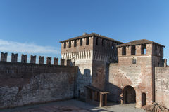 Castle of Soncino Stock Photos