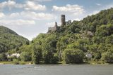 Castle Sooneck. Between Trechtingshausen and Niederheimbach in the Middle Rhine Valley, Rhineland-Palatinate, Germany Royalty Free Stock Photo