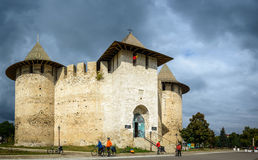 Castle in Soroca, Medieval Fortress. Moldova. Castle in Soroca, Medieval Fortress. Architectural details of medieval fort in Soroca, Republic of Moldova. Photo Royalty Free Stock Image