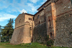 The castle of Sorrivoli Stock Images