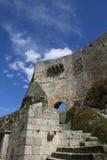 Castle Sortelha. Historic village near Covilha, Portugal Stock Photo