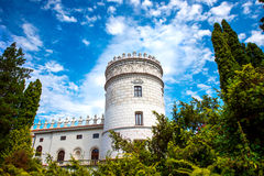 Castle in South East part of Poland Stock Image