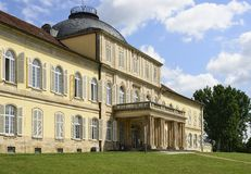 Castle south facade, Hoenheim Stock Photos