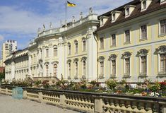 Castle south side, Ludwigsburg Royalty Free Stock Photo