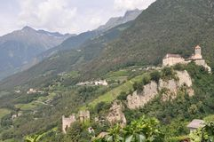 Castle in South Tyrol Royalty Free Stock Photos