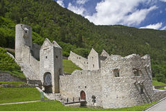 Castle in South Tyrol Royalty Free Stock Image