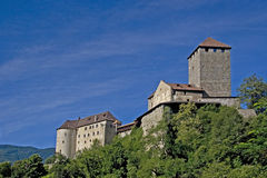 Castle in South Tyrol Royalty Free Stock Photo