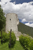Castle in South Tyrol Stock Photography