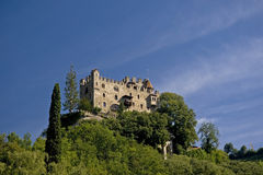 castle in South Tyrol Royalty Free Stock Images