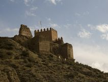 Castle in Spain Stock Image