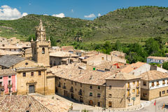 Castle in Spain Stock Photo