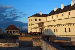 Castle Spilberk το βράδυ, Μπρνο, Τσεχία Στοκ Φωτογραφίες
