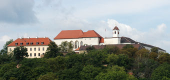 Castle Spilberk in Brno. Czech republic Royalty Free Stock Images