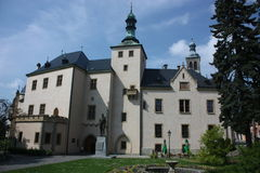 Castle Spilberk in Brno Royalty Free Stock Photography
