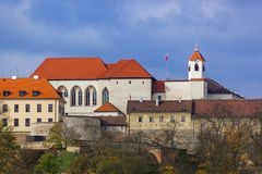 Castle Spilberk in Brno - Czech Republic. Travel and architecture background Royalty Free Stock Photo