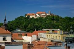 Castle Spilberk in Brno. Stock Image
