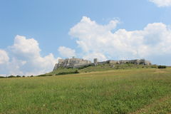 Castle Spis castle2. A foto of the Spis castle in the Slovakia Stock Photography