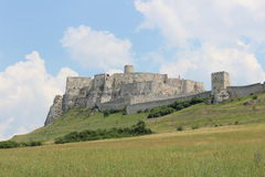 Castle Spis castle3. A foto of the Spis castle in the Slovakia Royalty Free Stock Photo
