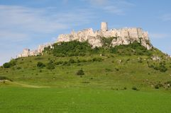Castle Spissky hrad Royalty Free Stock Image