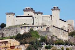 The castle of Spoleto stock image