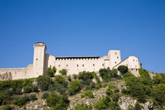 Castle, Spoleto Stock Images