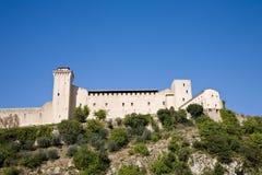 Castle, Spoleto Stock Images
