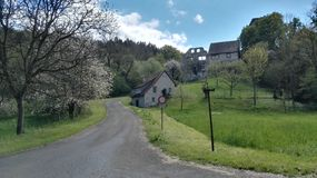 Castle Sponeck Kaiserstuhl Στοκ εικόνες με δικαίωμα ελεύθερης χρήσης