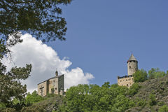 Castle Sprechenstein in South Tyrol Royalty Free Stock Photography