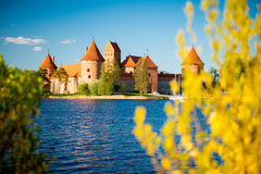 Castle in spring Royalty Free Stock Photos