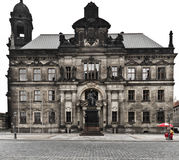 Castle square, Dresden. Castle square with Augustus monument, Dresden, Germany Stock Image