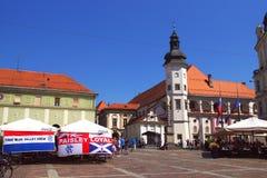 Castle Square In Maribor, Slovenia Stock Photography