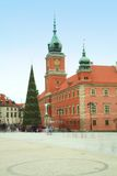 Castle Square in the old town - Warsaw, Poland Stock Photos