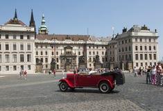 Castle square in prague czech republic europe Stock Photos