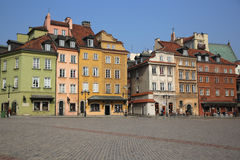 Castle Square. Warsaw Royalty Free Stock Photos