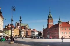 Castle Square. Warsaw. Stock Photos