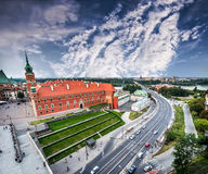 Castle square in Warsaw Royalty Free Stock Photography