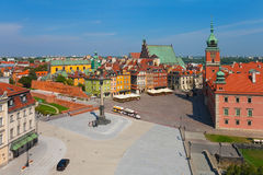 Castle Square in Warsaw, Poland Stock Photography