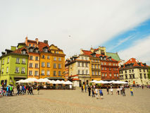Castle Square in Warsaw. Royalty Free Stock Photography