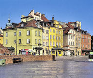 The Castle Square in Warsaw Stock Photos