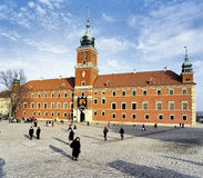 The Castle Square in Warsaw Stock Photo