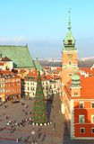 Castle square, Warsaw, Poland Royalty Free Stock Image