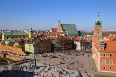 Castle Square, Warsaw Stock Photography