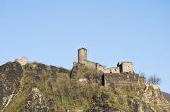 Castle Střekov Stock Image